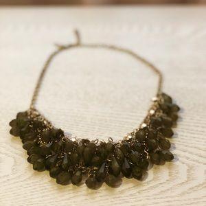 GoldTone Emerald Faux-Stone Linked